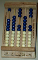 Abacus from High Performance Learning Mathematics Laboratory Kit