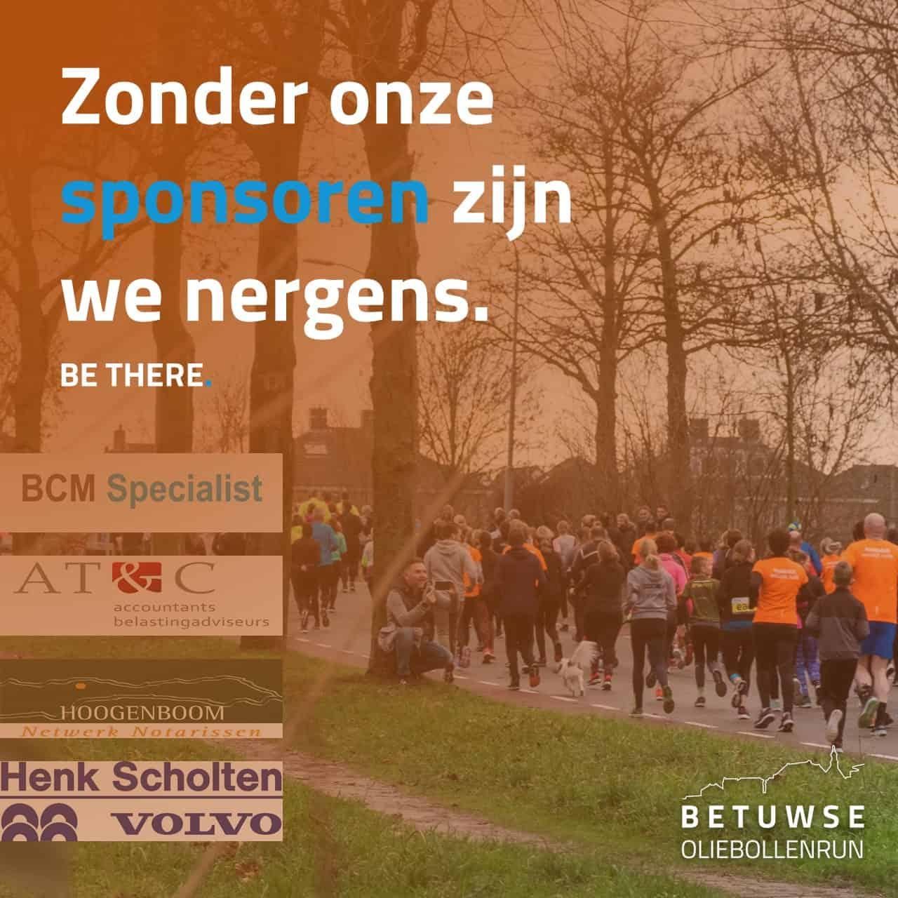 BCM Specialist sponsort Betuwse Oliebollenrun 2019