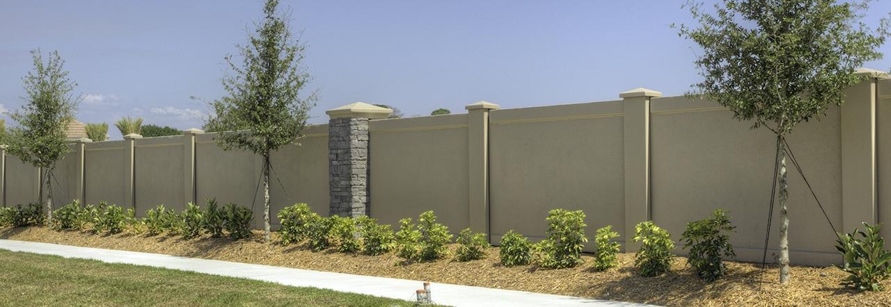stucco fences