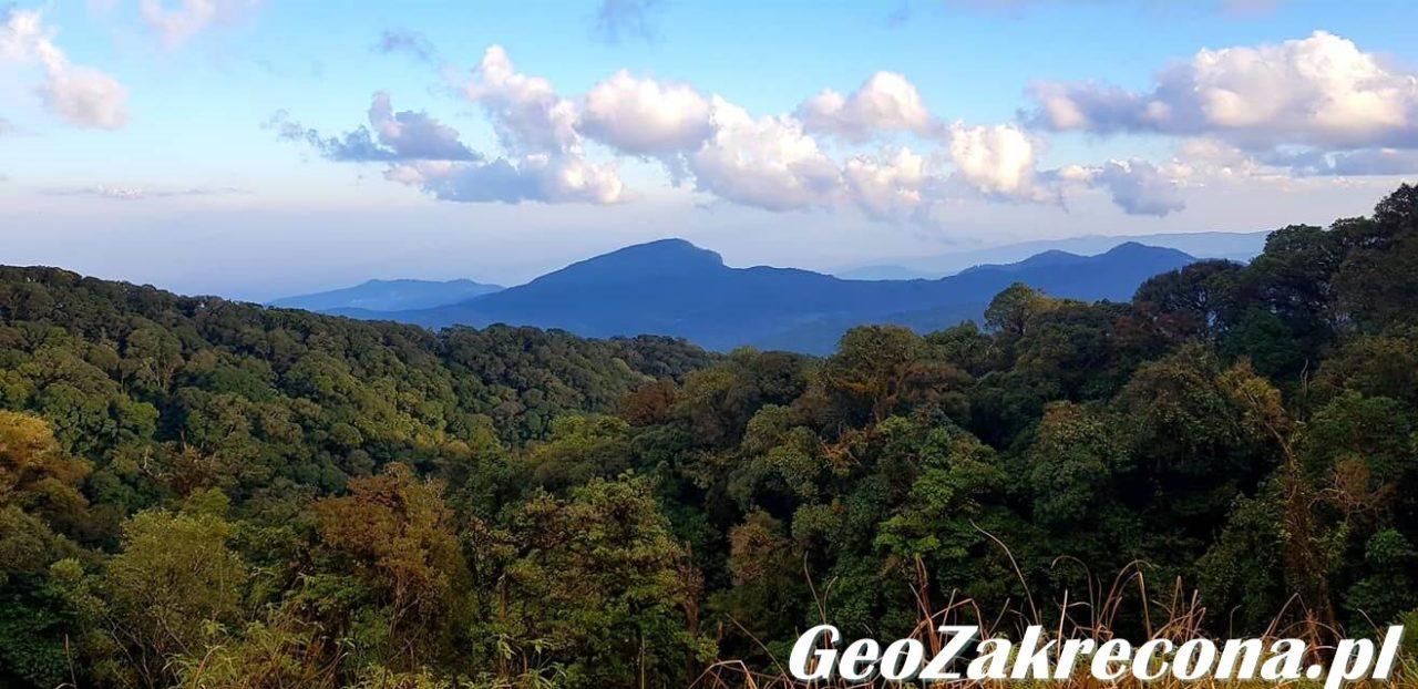 Doi Inthanon najwyższy szczyt Tajlandii GeoZakręcona