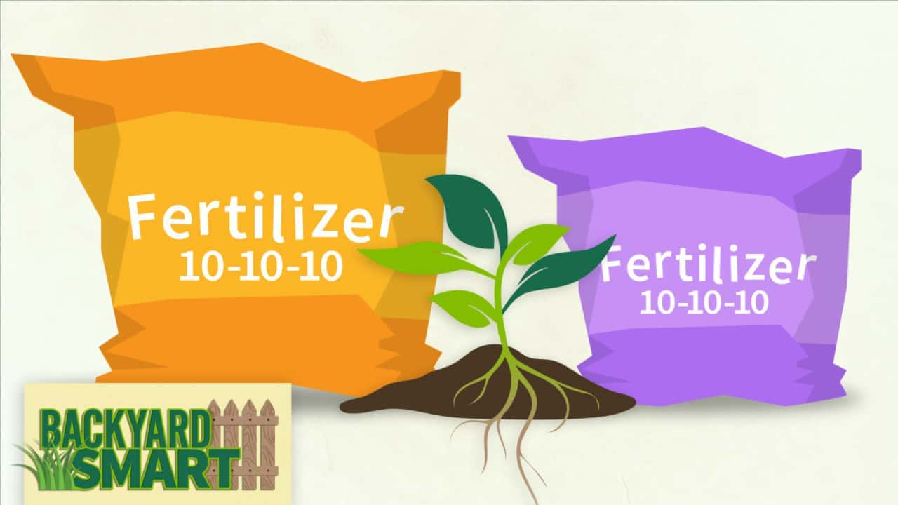 What numbers on fertilizer mean