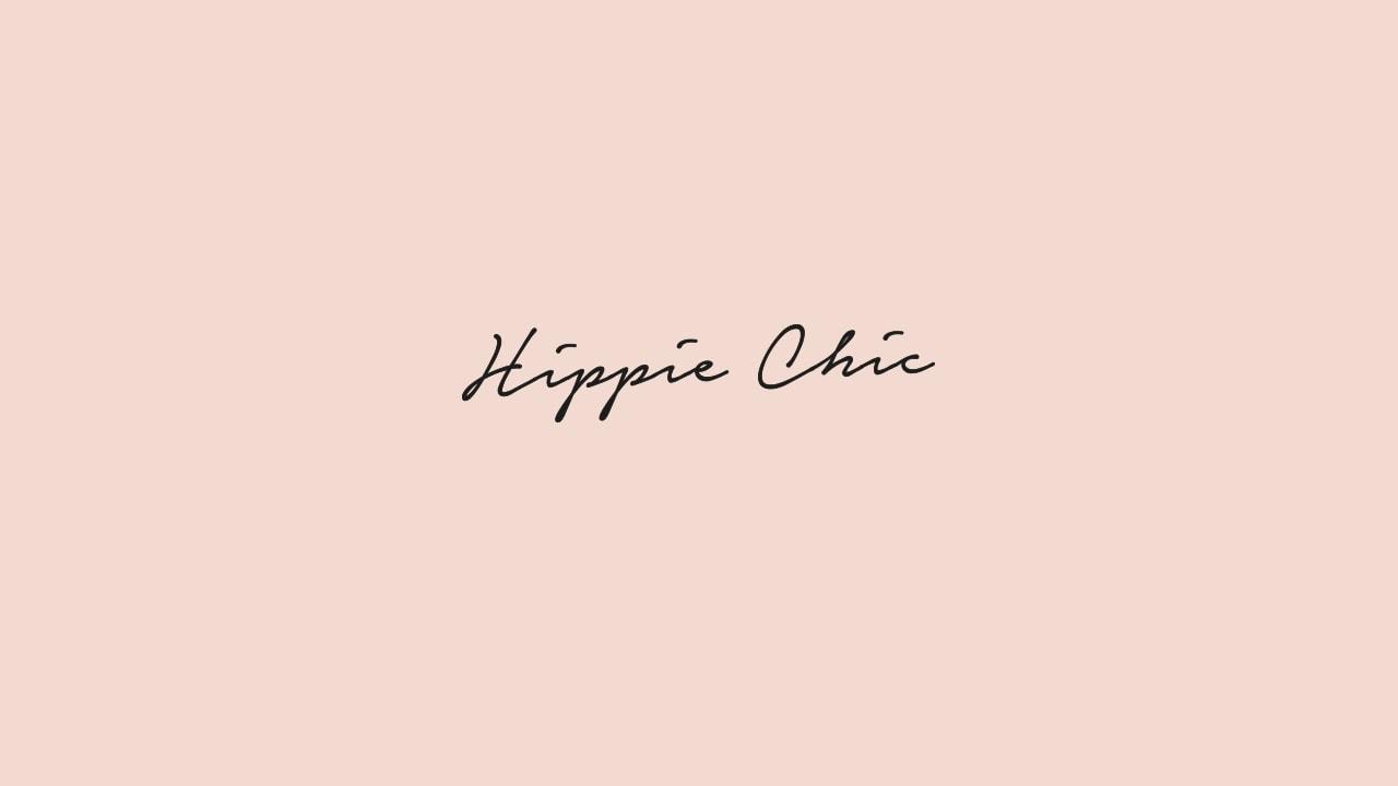 Hippie Chic Logo Design