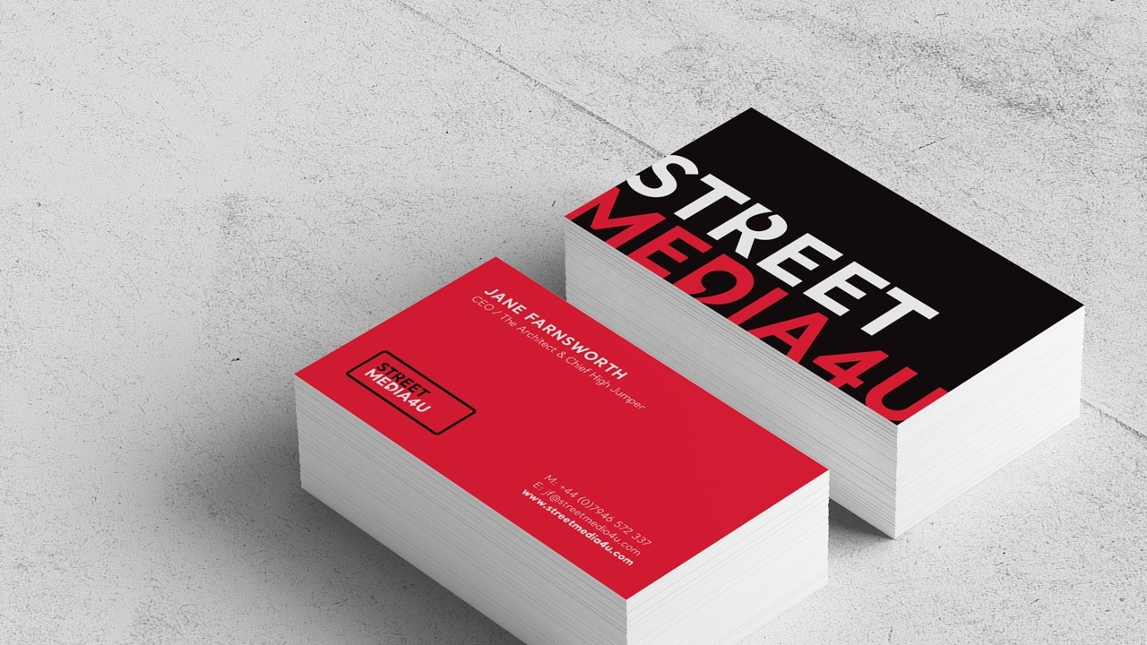 Street Media 4U Business Card