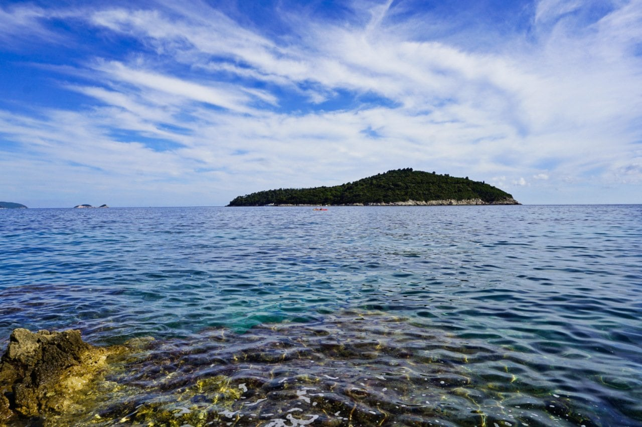 Lokrum island from Dubrovnik, Croatia - Experiencing the Globe
