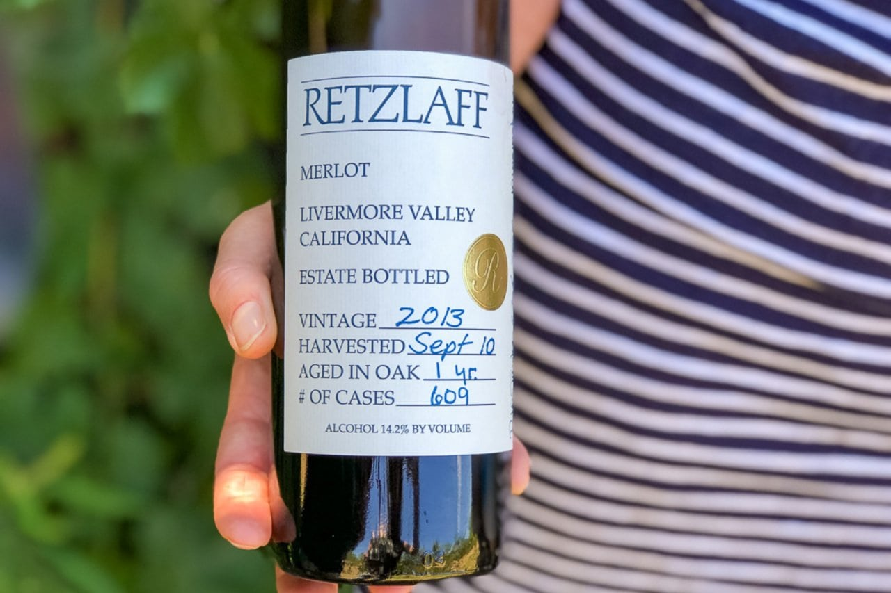 Merlot, Retzlaff Vineyard, Livermore Valley, California, United States ©Travlinmad