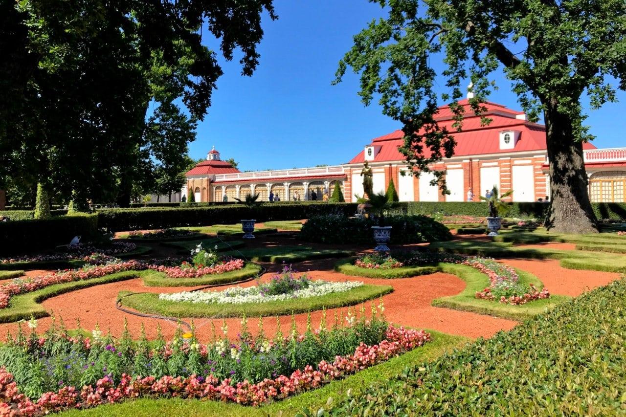 Monplaisir Palace, Peterhof, Russia