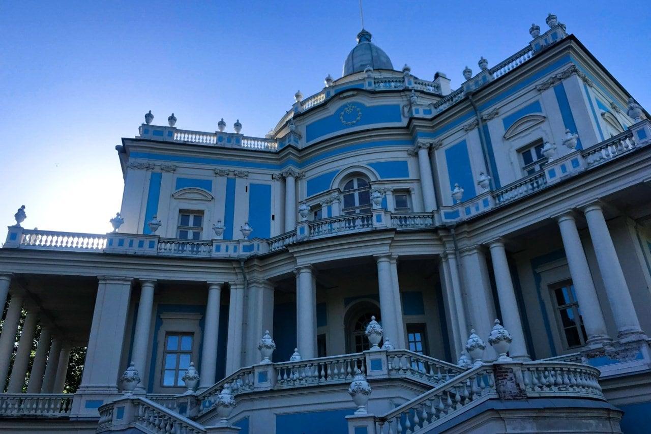 Sliding Pavillion, Oranienbaum, Peterhof, Russia