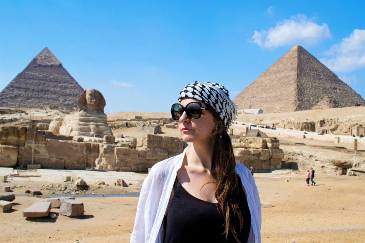The Giza complex - Experiencing the Globe