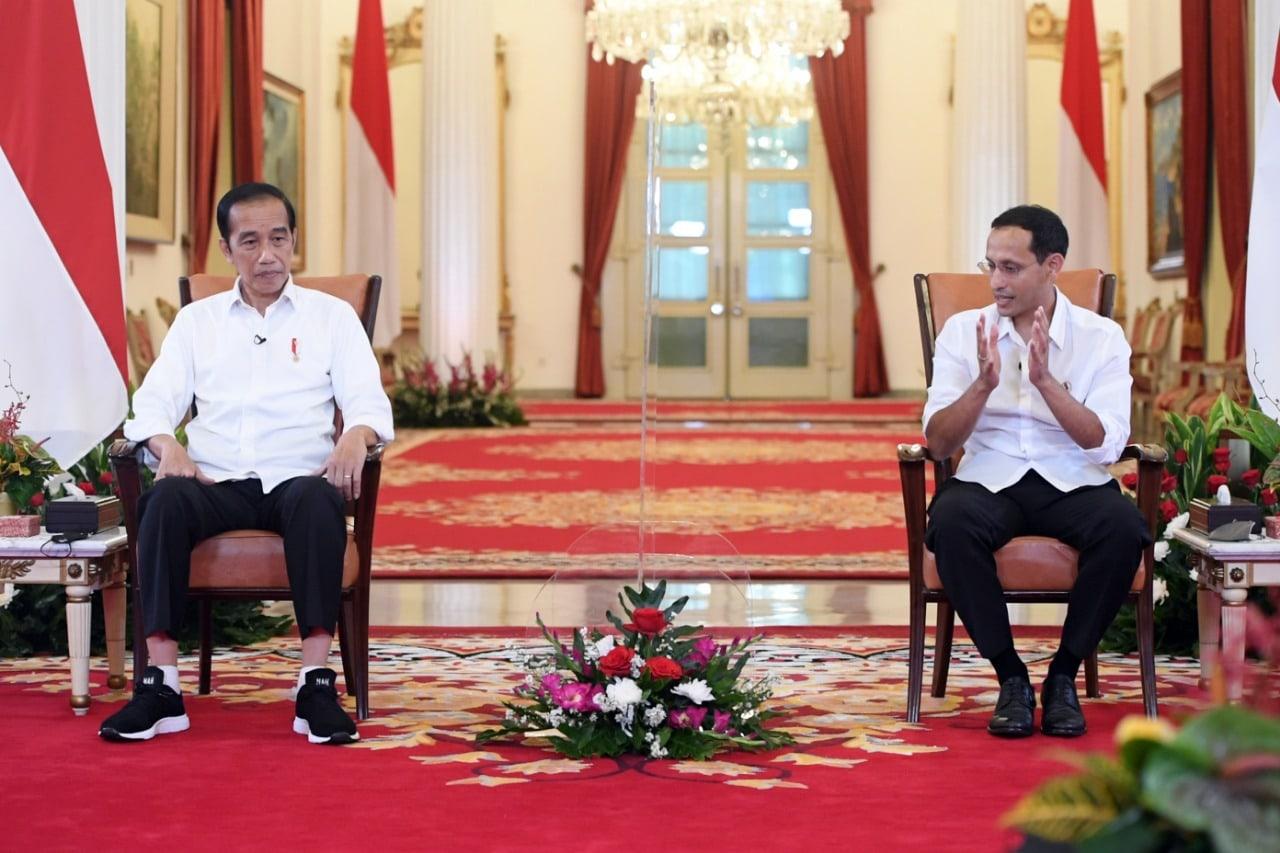 Presiden Jokowi & Nadiem Kampus Merdeka