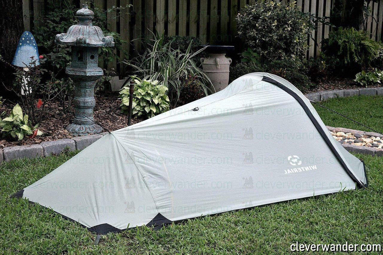 Winterial Single Person Bivy Tent - image review 3