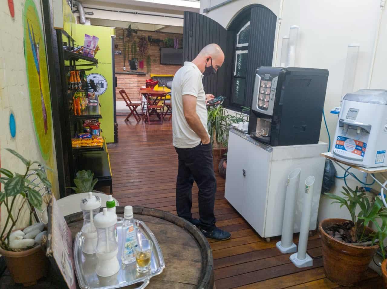 Smart Place Coworking - Máquina de Café Expresso