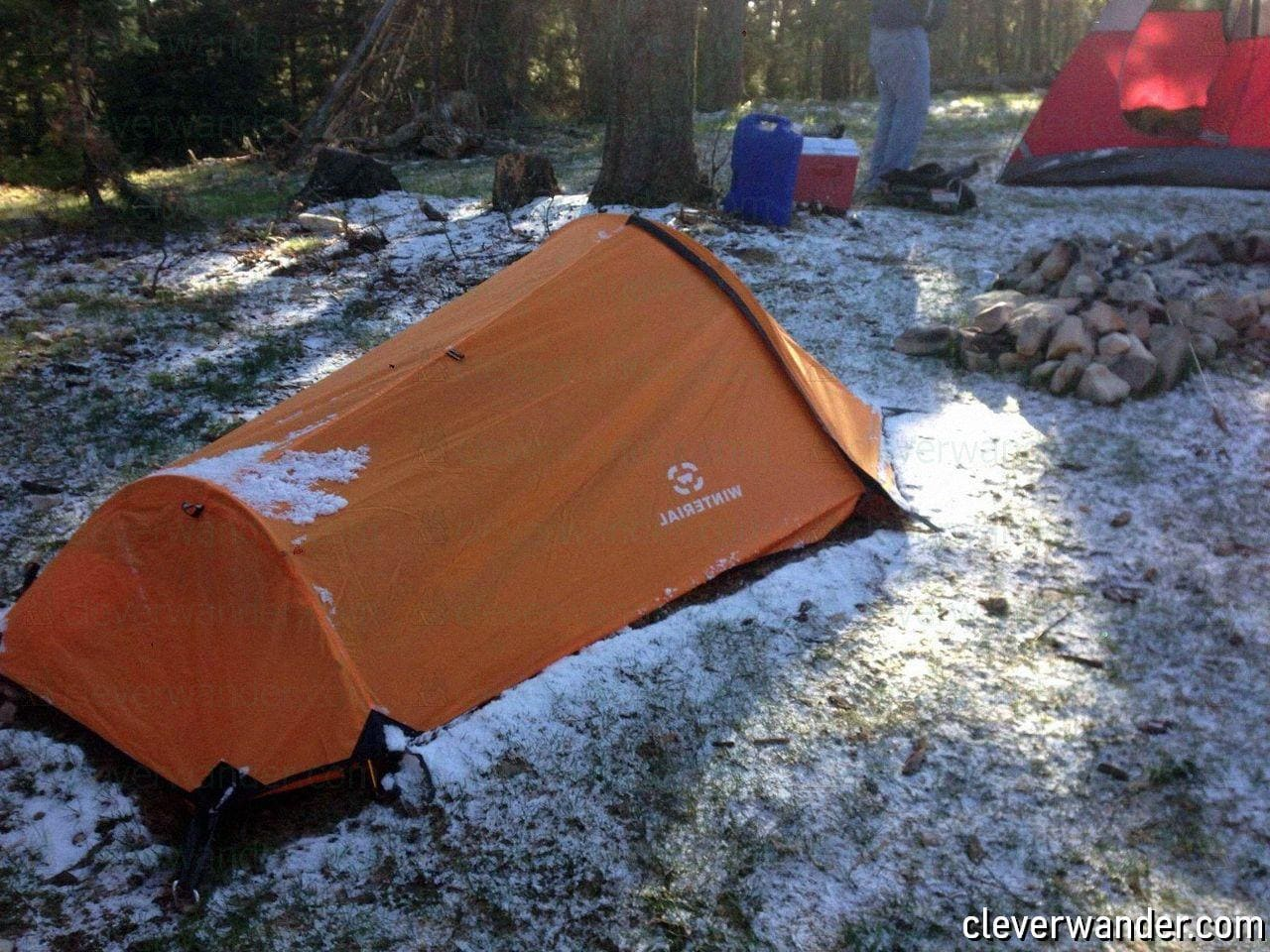 Winterial Single Person Bivy Tent - image review 2