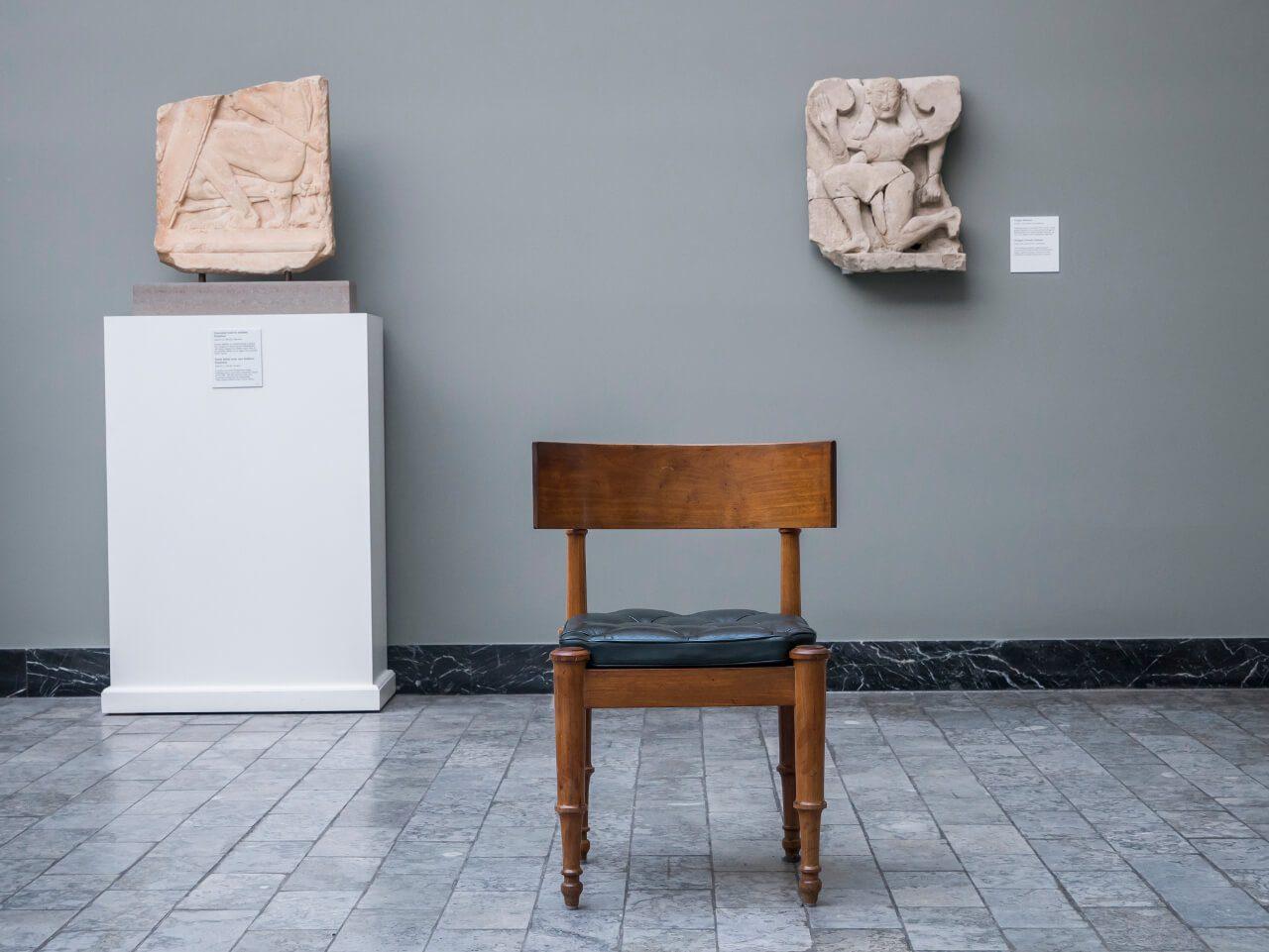 Eksponaty galerii Glyptotek