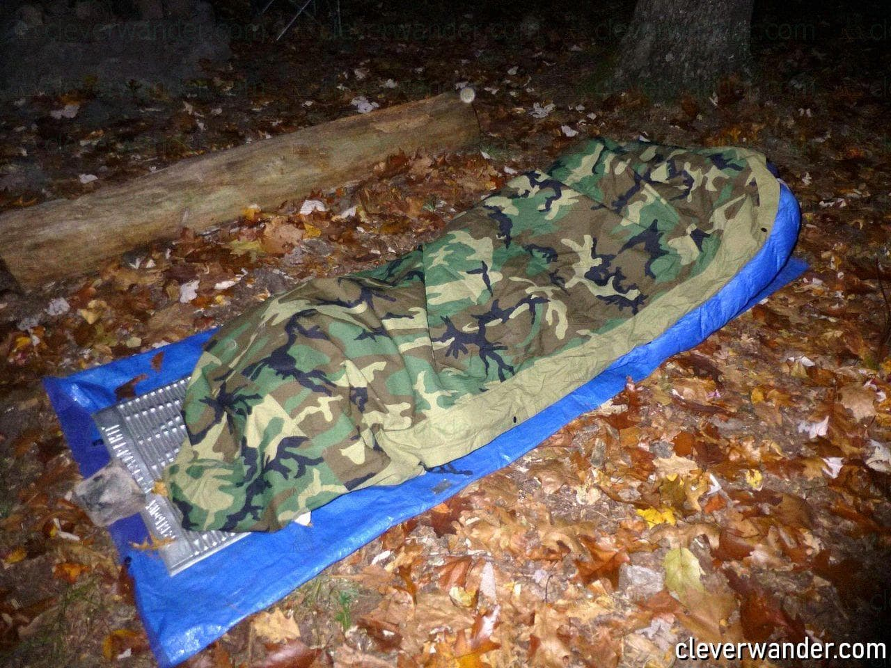 Tennier Woodland Camouflage Bivy Cover - image review 2