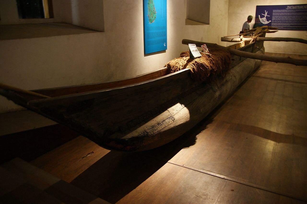 Inside the The National Maritime Museum Galle, Sri Lanka