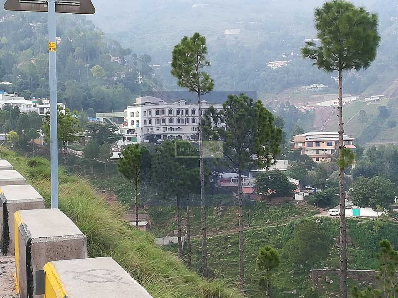 8 marla commercial plot for sale in lakot murree expressway