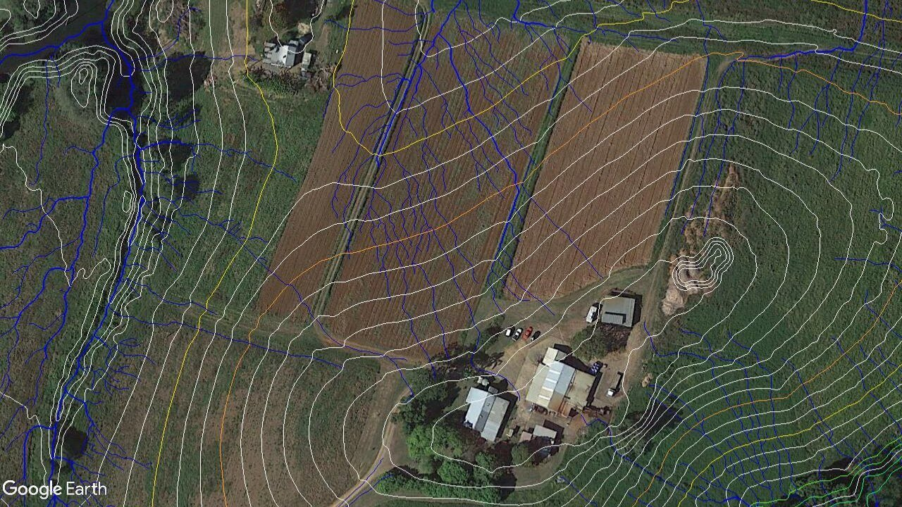 farm mapping for contour planting