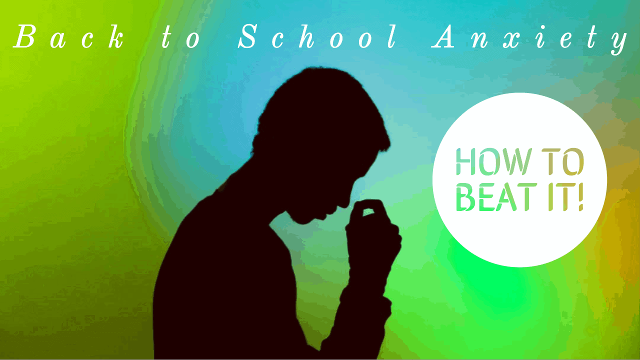 back to school anxiety - stressed teacher