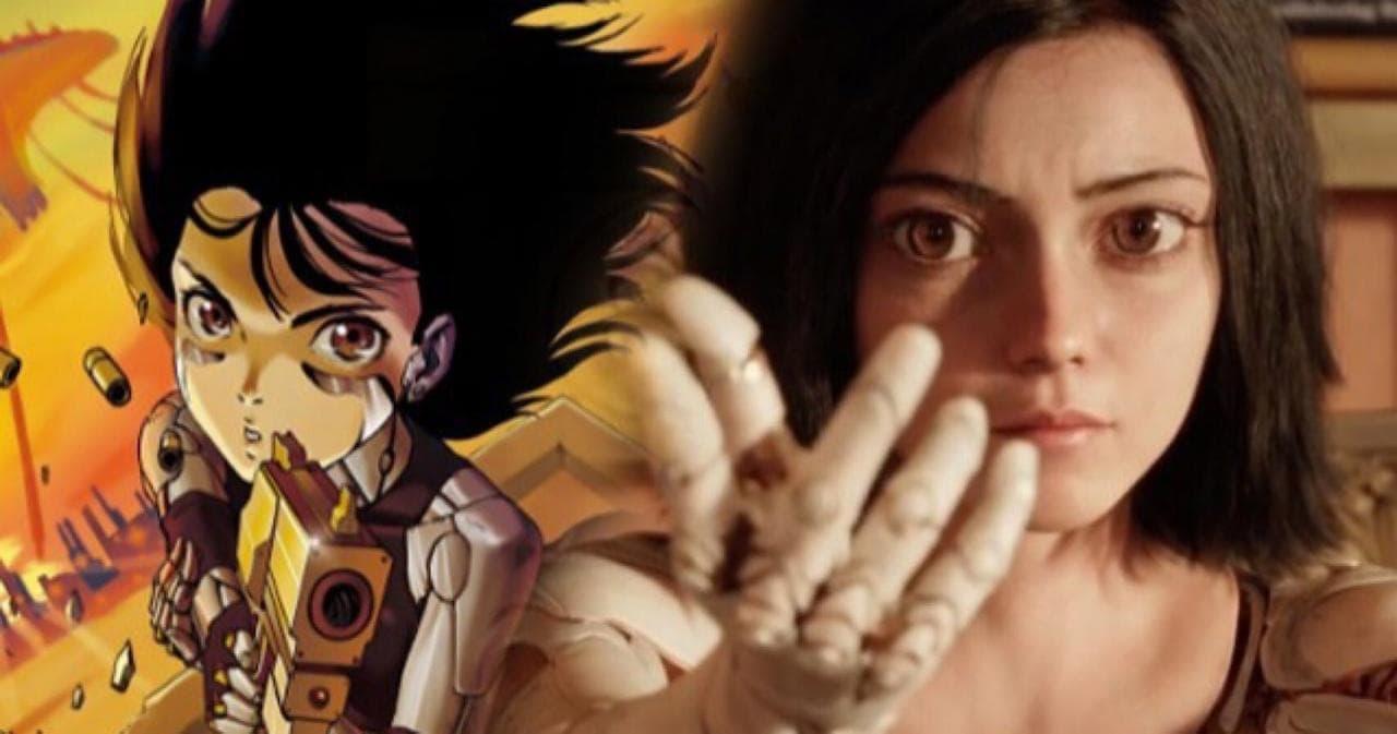 Image result for 'Alita: Battle Angel' anime