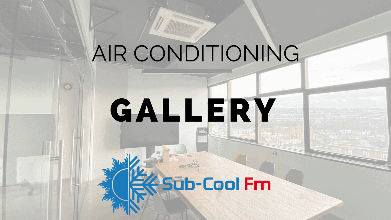 Link to air conditioning gallery to see examples