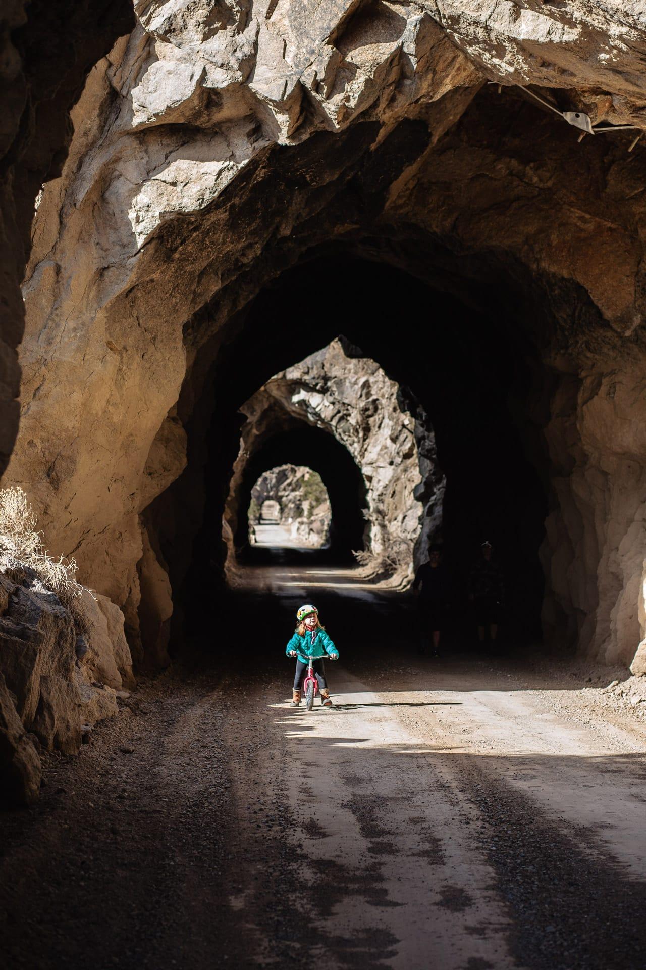railroad tunnel river road