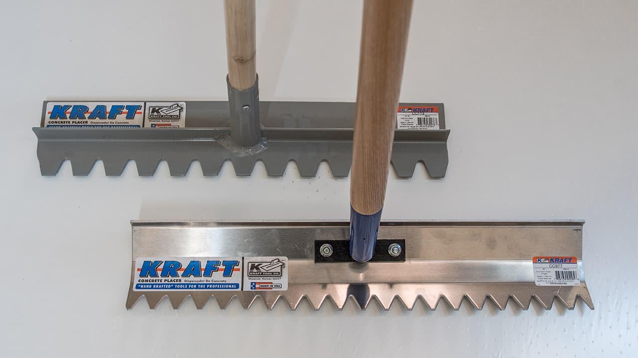 Kraft Tools Concrete Rakes