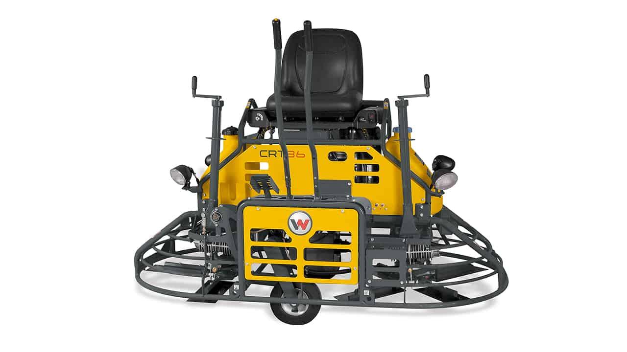 Wacker Neuson CRT36 Ride On Power Float Trowel - Para venda ou locação