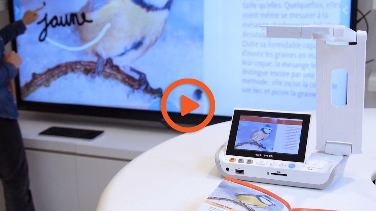 visualiseur mobile sans-fil en vidéo