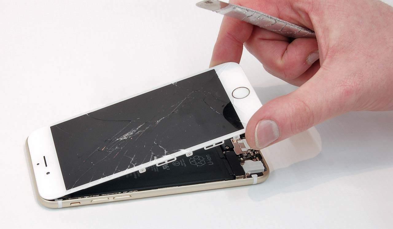 tela iphone 7 quebrada?
