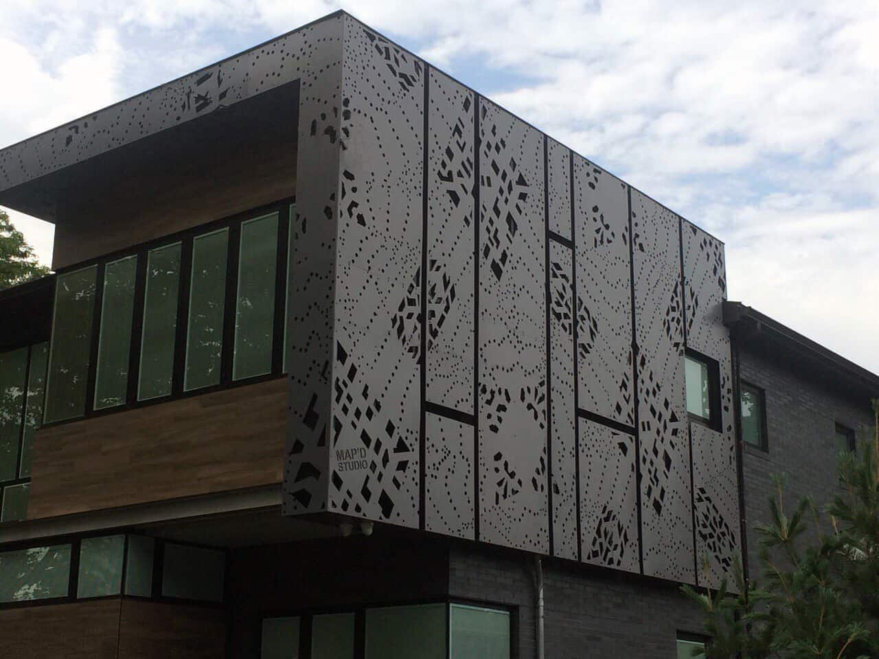 Designboard on Intricate Building Design