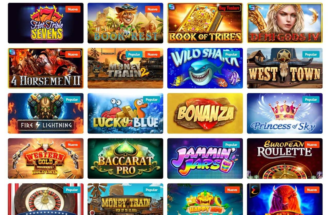 lista giochi