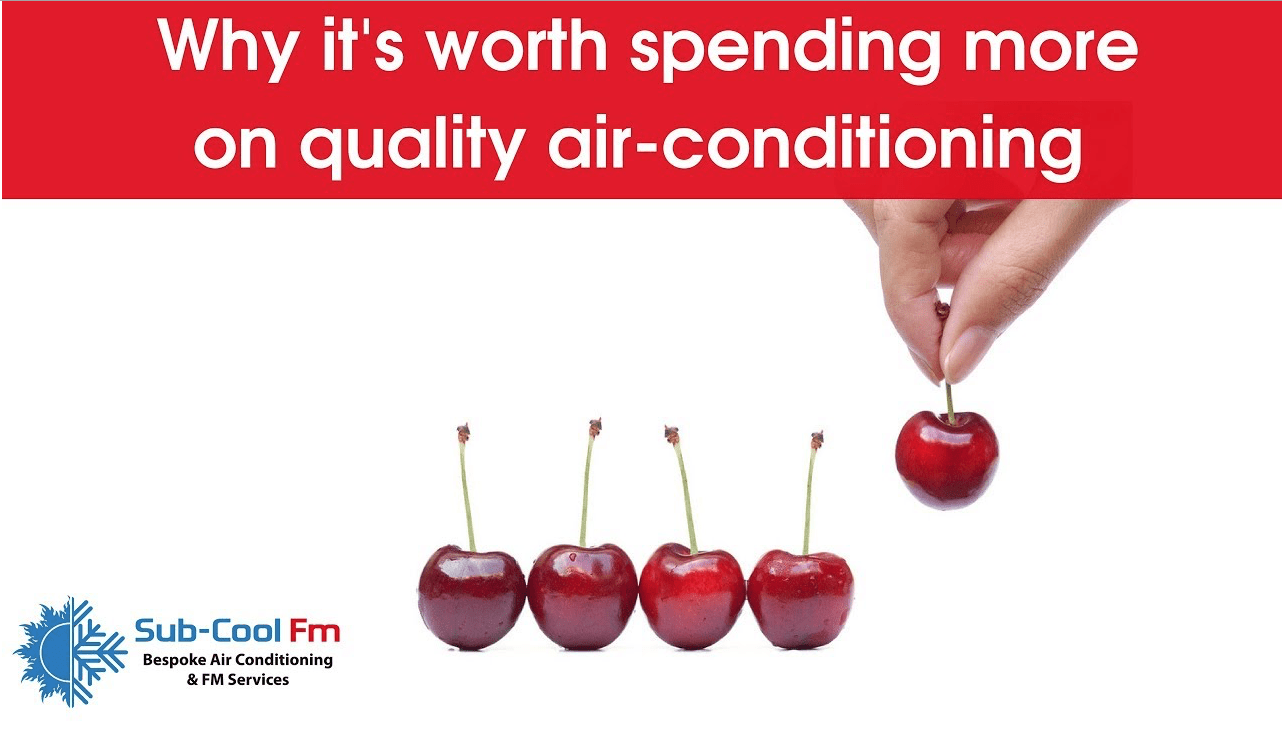 Link to SubCoolFm YouTube Vlog on why its worth spending more on air conditioning