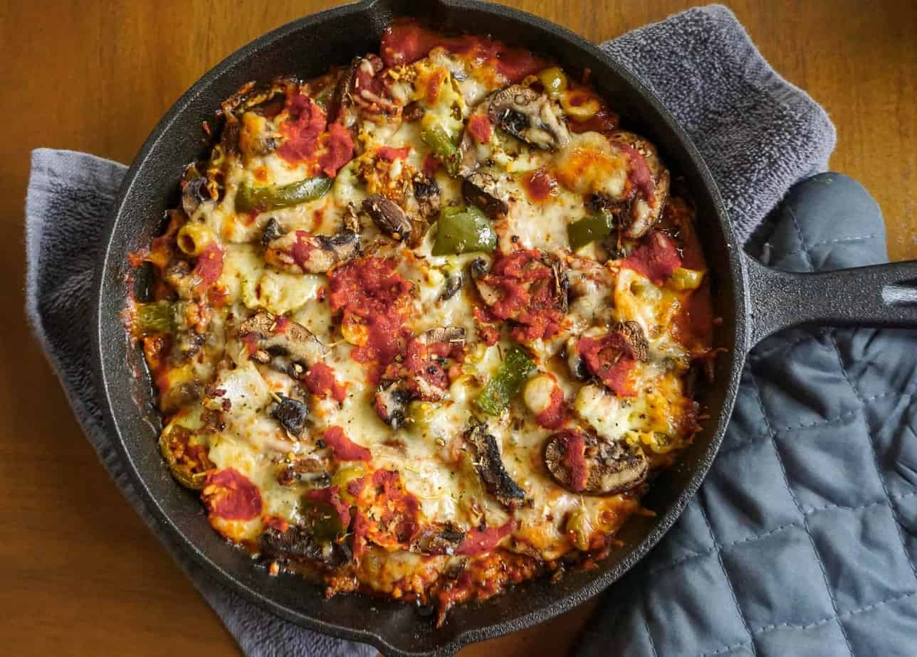 Deep dish casserole dish-9611
