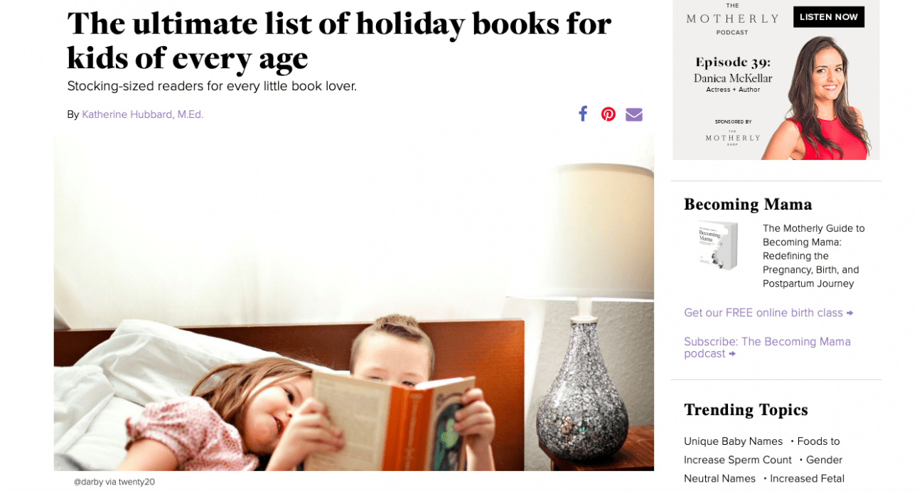 The ultimate list of holiday books for kids of every age