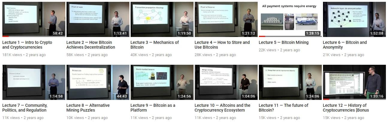 Bitcoin and cryptocurrencies lecture