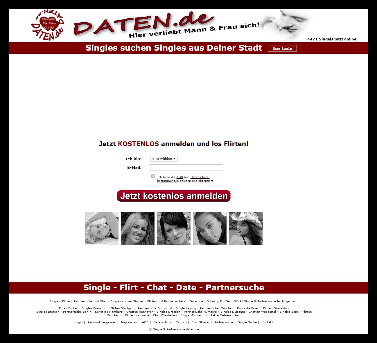 Kontaktanzeigen fr Flirts, Chat und Dates auf MeetMeOnline
