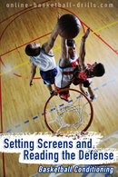 basketball conditioning screens and reads