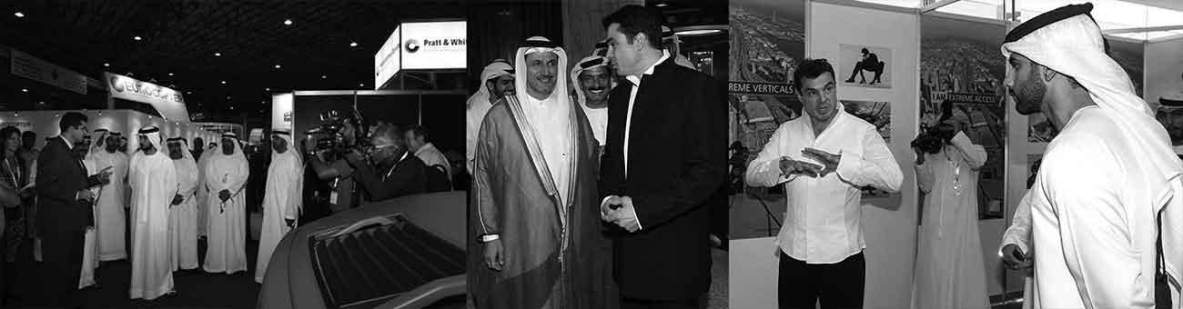Иван Кристоф: По време на Дубай Хелишоу 2010, пред Принц Маджит и Принц Мансур представих съвместната си тренировка и обмен на опит с Аварийно-спасителното звено на АвиоБаза Крумово, чийто командир на Базата и на полета бе Ген. Златко Златев