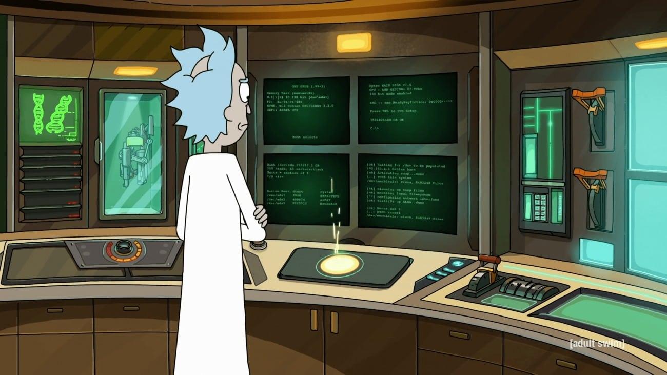 Rick and Morty, AMD