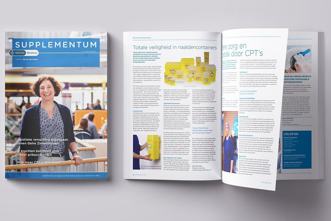Mediq Medeco relatiemagazines Supplementum