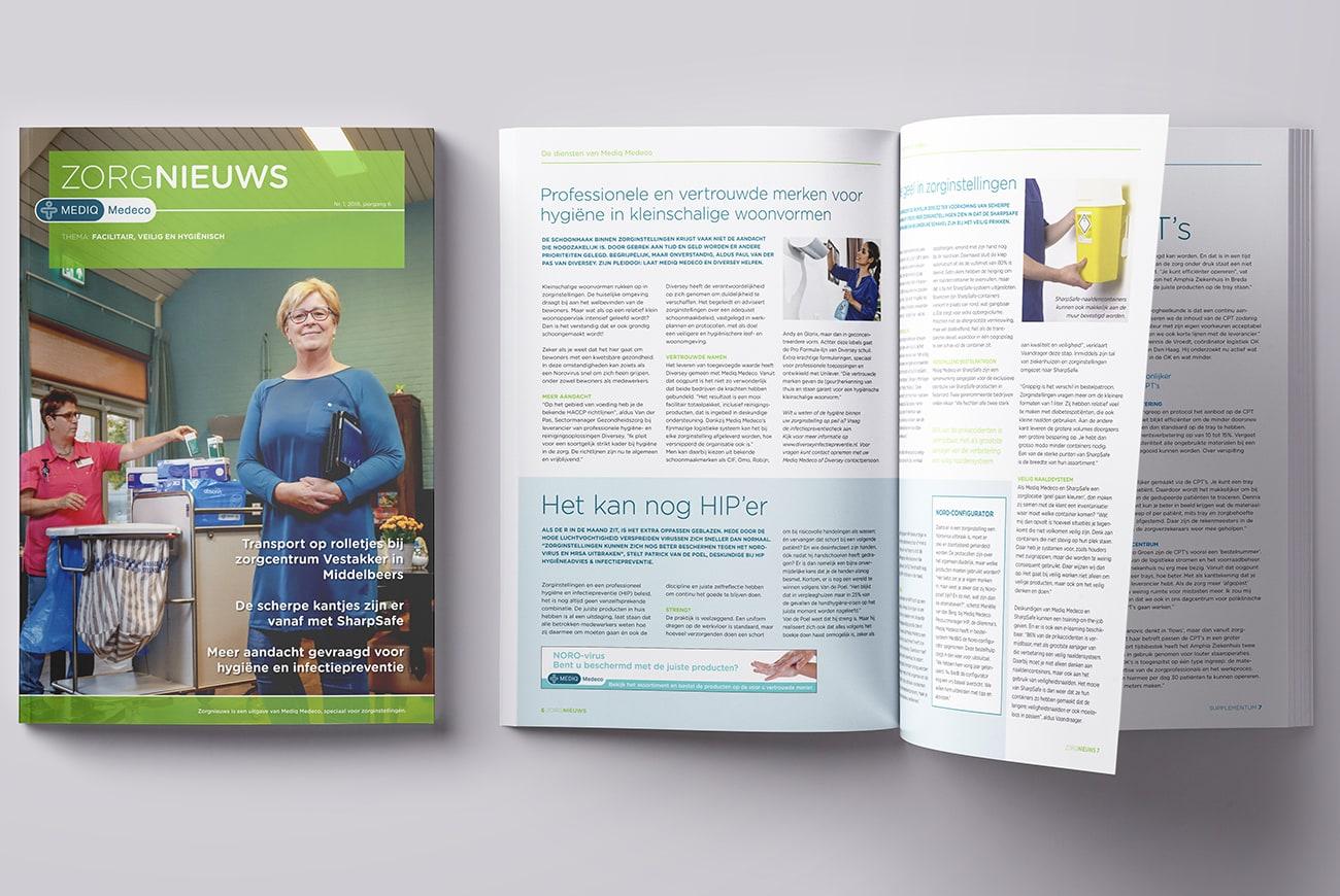Mediq Medeco relatiemagazines Zorgnieuws