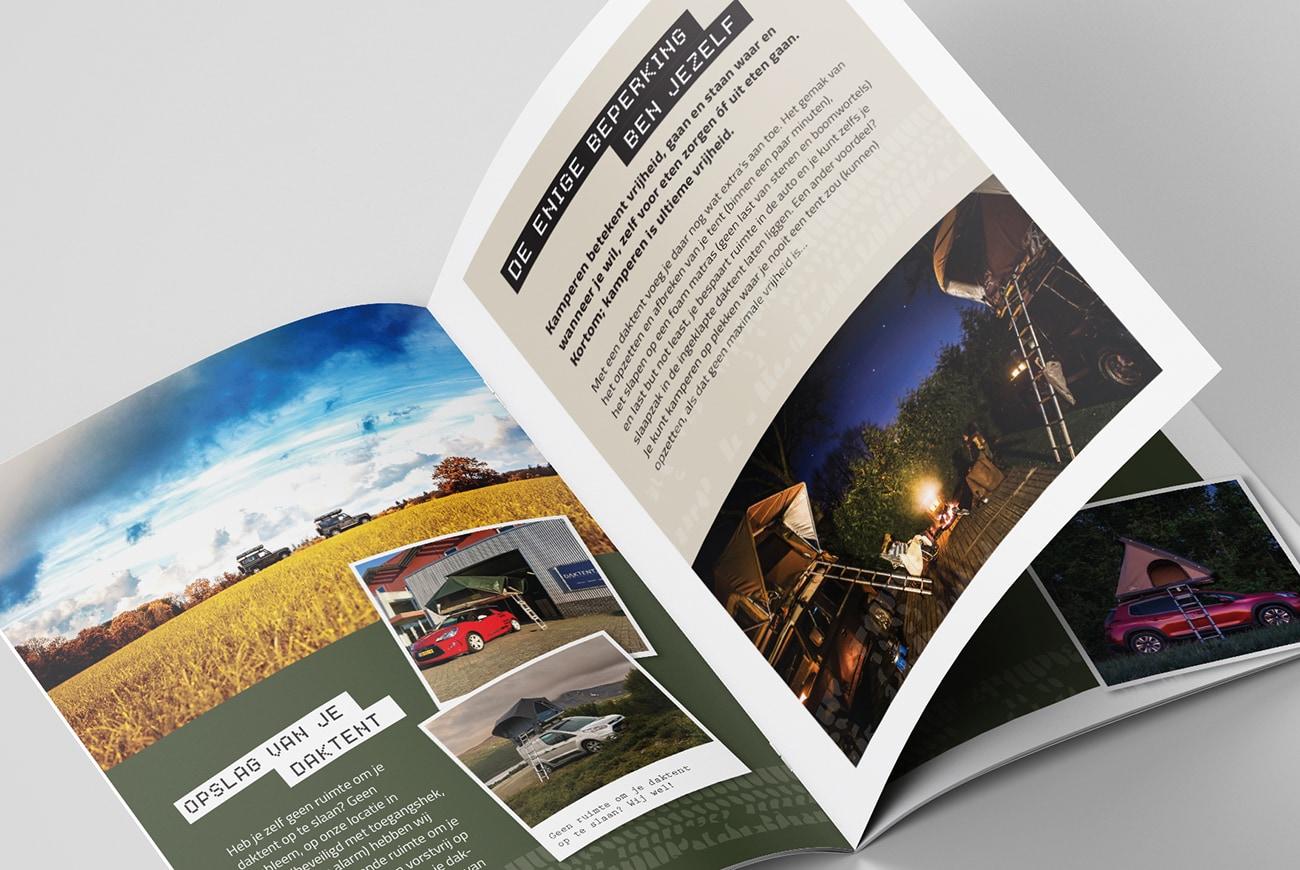 Daktent.nl communicatie & advies brochure