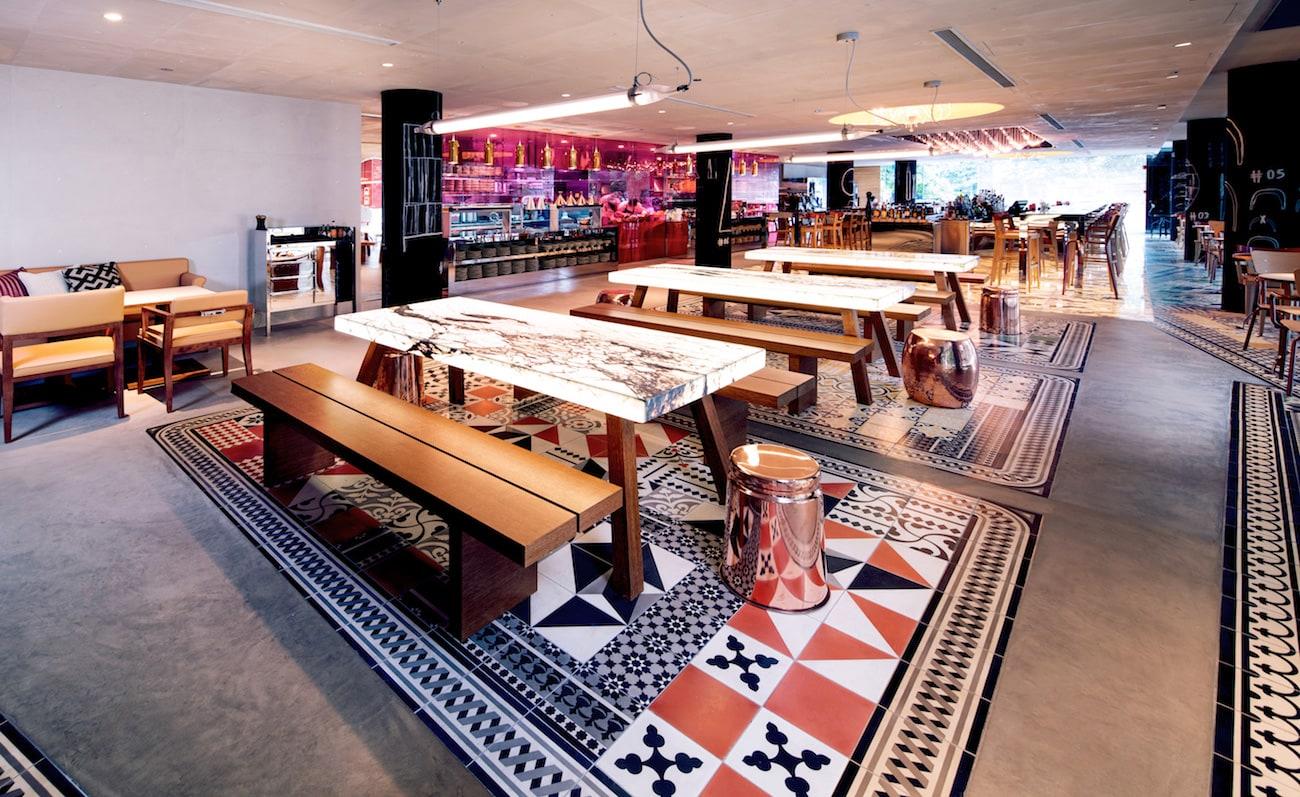 Hotelowy interior design Philippe Starcka