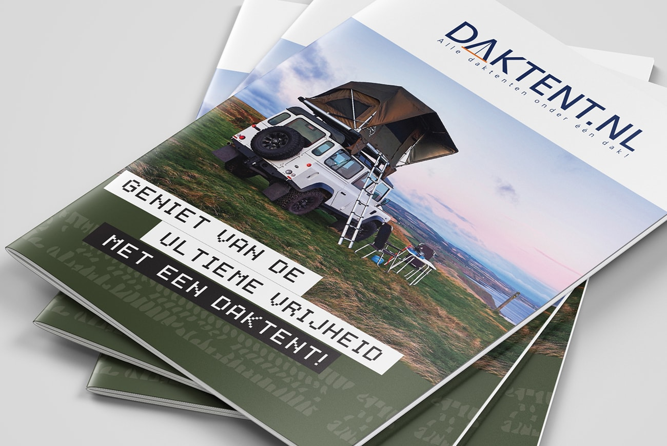 Daktent communicatiemiddelen brochure