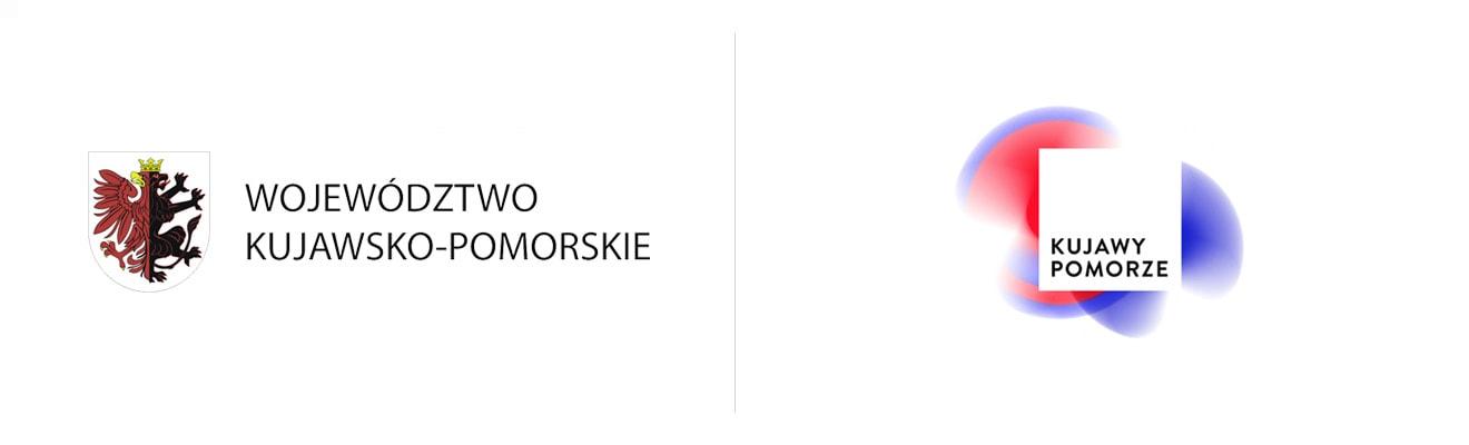 nowe istare logo województwa kujawsko pomorskiego