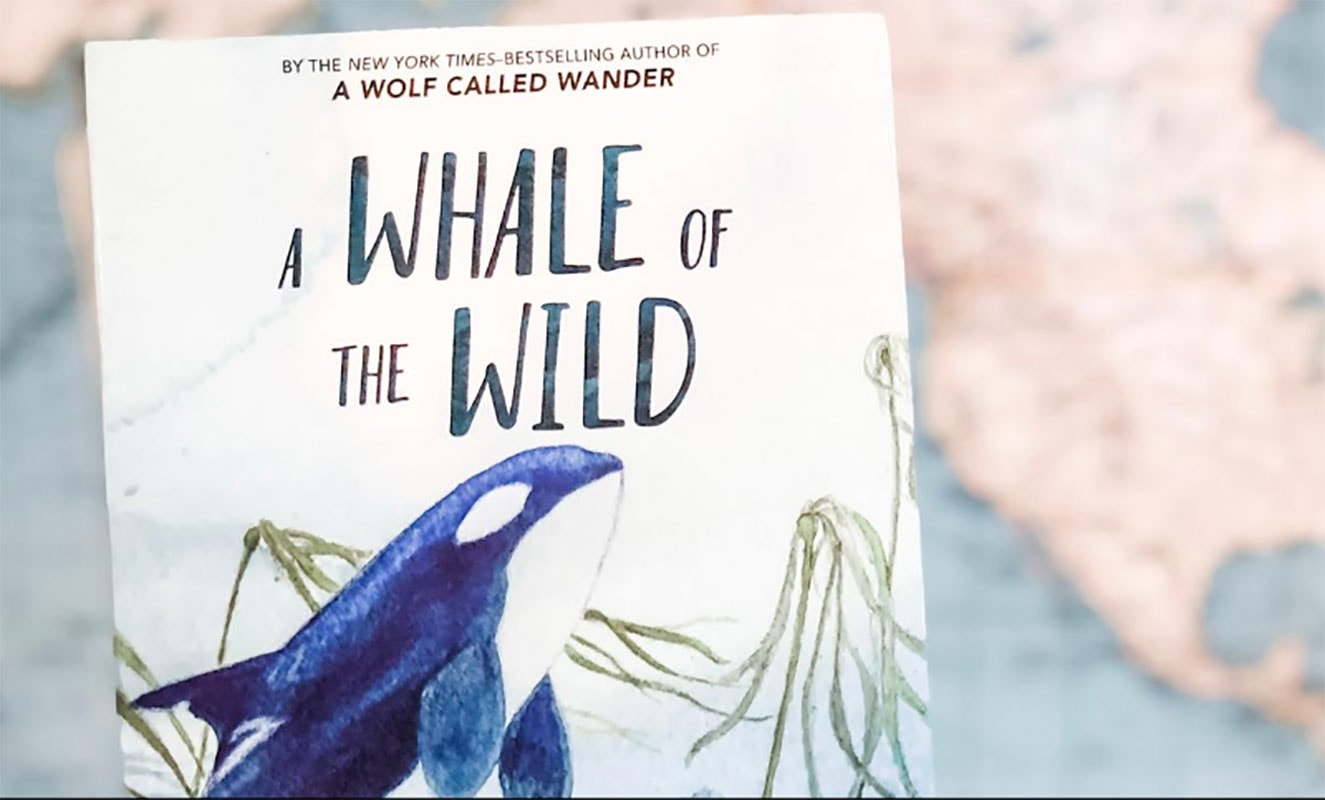 A whale of the wild cover
