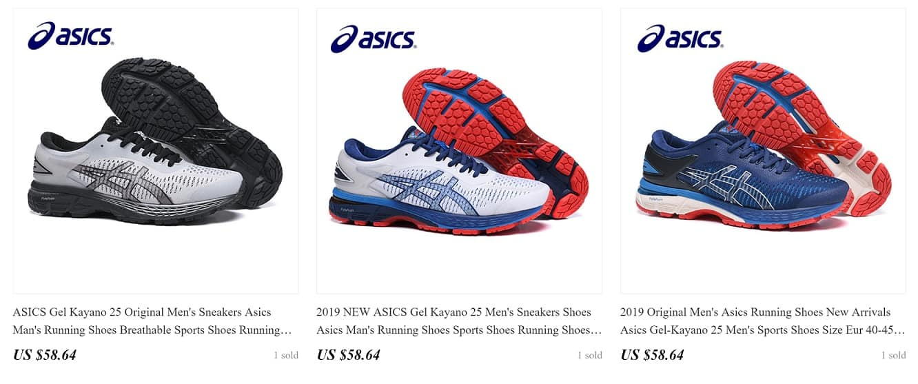 Fashion Brand Replica Asics Running Cheap Branded Copy Sneakers Fake Shoes AliExpress China Wholesale 1 Asics Athletic Footwear