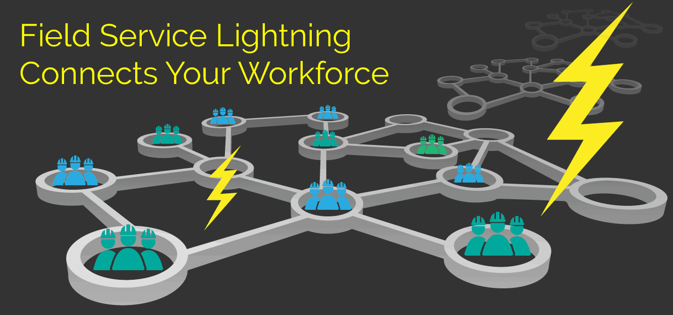 Field Service Lightning Connects Your Workforce