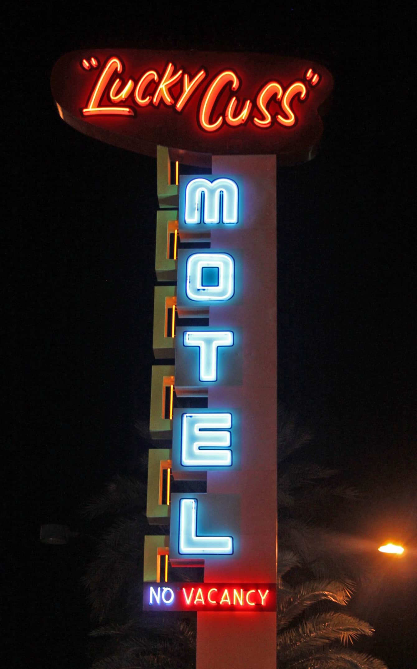 The Lucky Cuss Motel