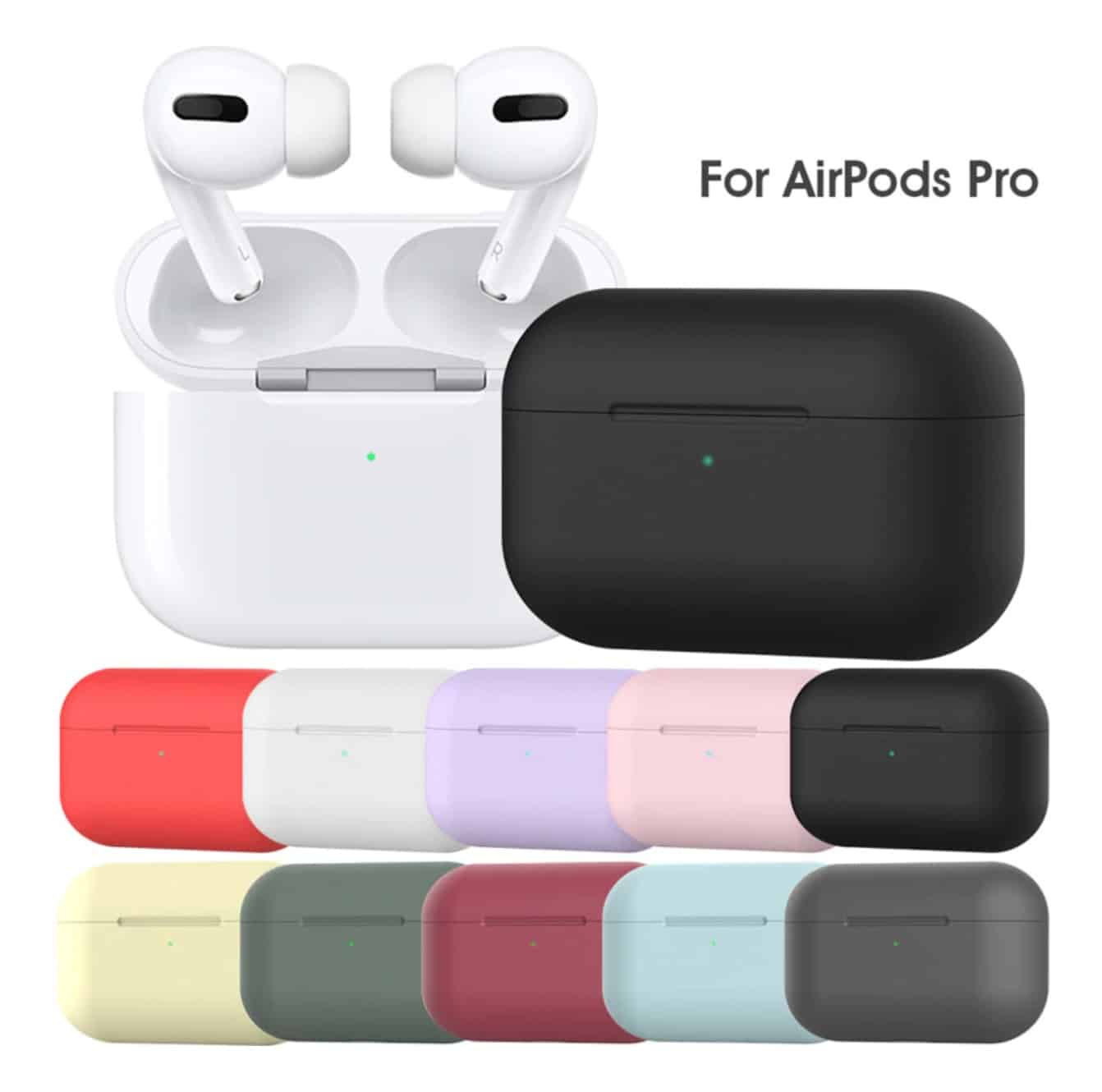 Best fake apple airpod replica top cheap aliexpress airpod clone airpod best quality 1to1 wirelesscharging airpod Pro silicon case